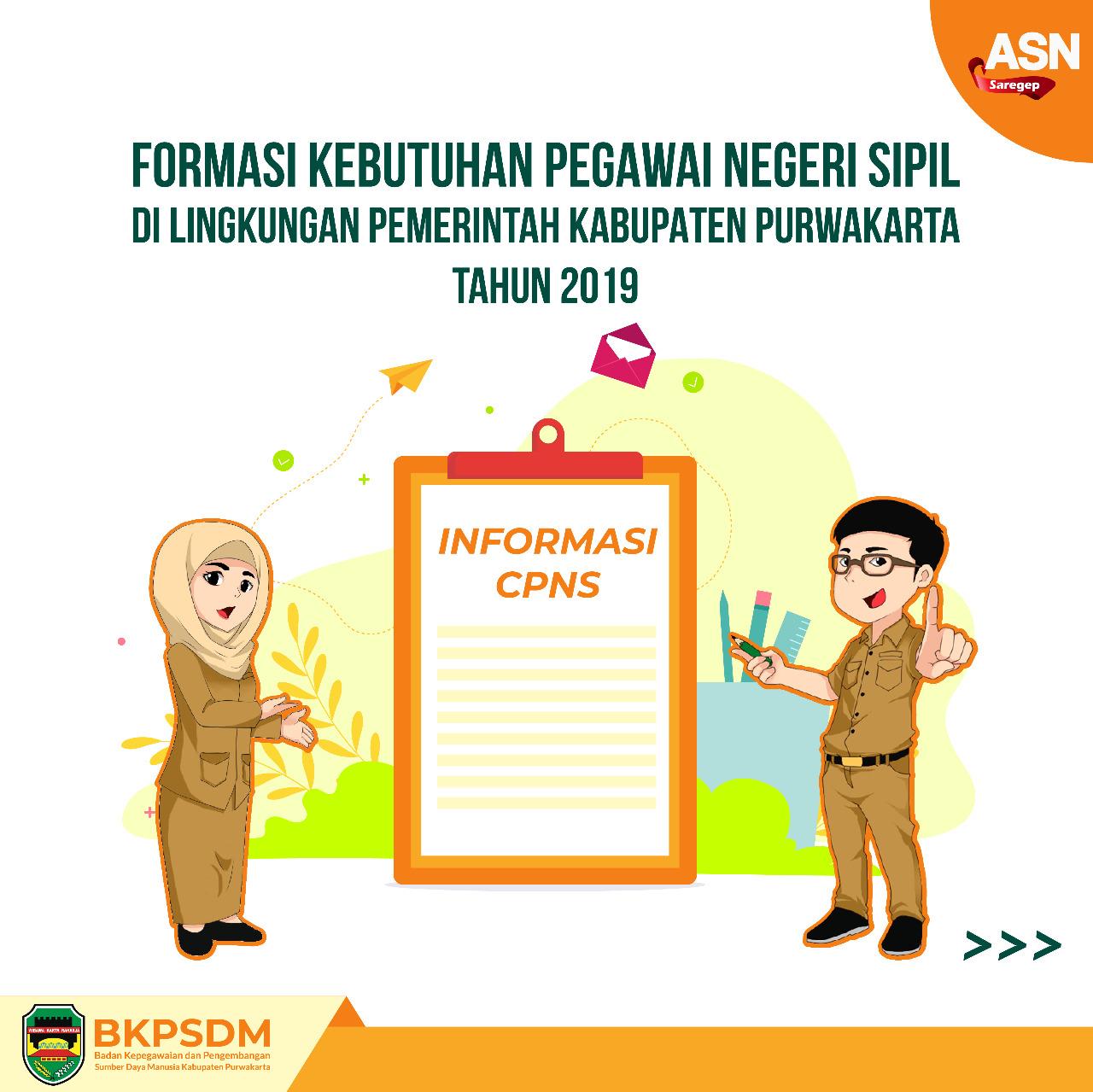 Pendaftaran Calon Pegawai Negeri Sipil Kabupaten Purwakarta Tahun 2019