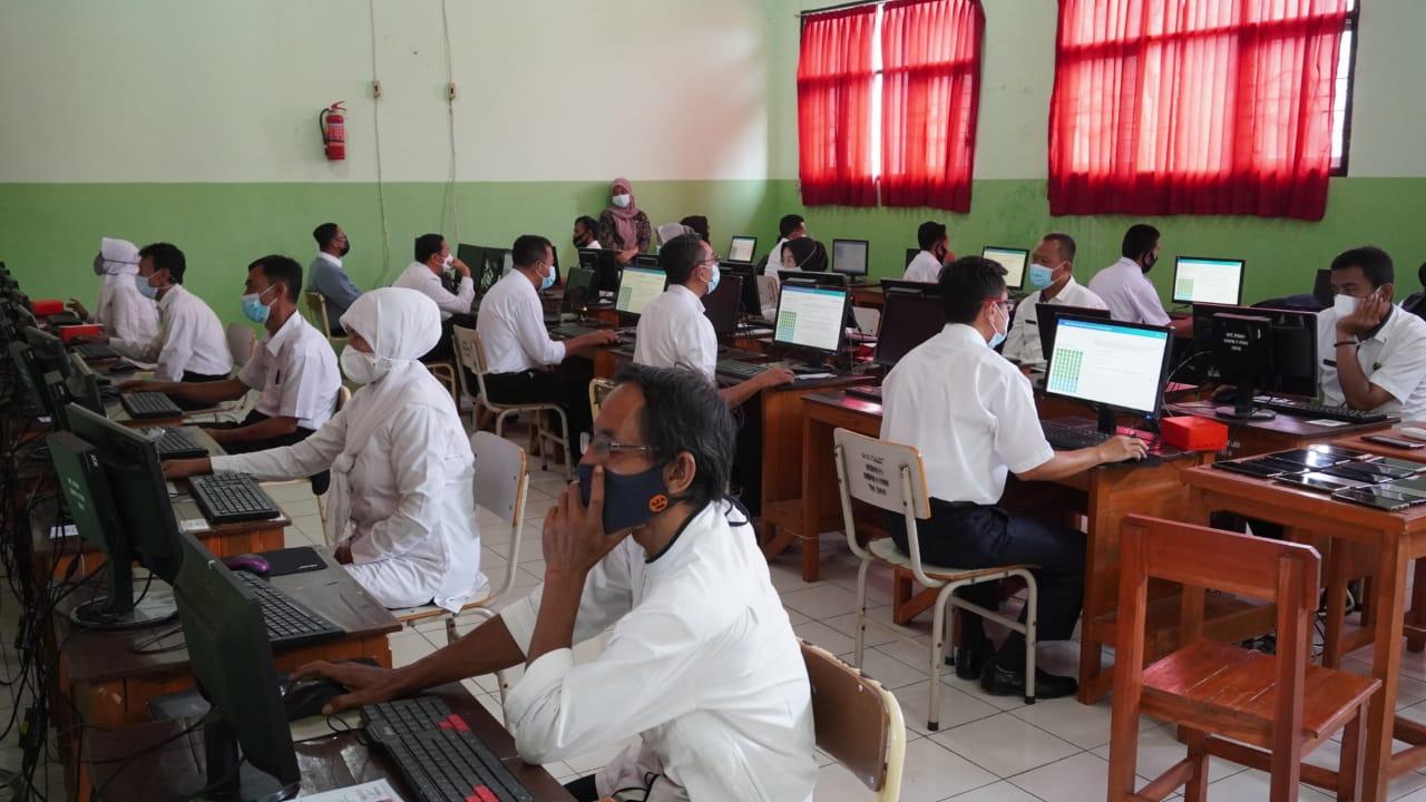 Penetapan Hasil Ujian Dinas Dan Ujian Penyesuaian Kenaikan Pangkat Periode April 2022